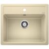 Kép 1/2 - Blanco Legra 6 Pezsgő 1m+csepp. Silgránit mosogató 860x500mm ect.nélk.