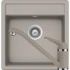 Kép 1/6 - Schock Nemo N-100S Mosogató 490 x 510 mm és Schock Cosmo Csaptelep Beton Cristalite Szett