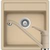 Kép 1/6 - Schock Nemo N-100S Mosogató 490 x 510 mm és Schock Cosmo Csaptelep Moonstone Cristalite Szett