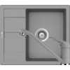 Kép 1/6 - Schock Ronda D-100 Mosogató 580 x 500 mm és Schock Cosmo Csaptelep Croma Cristalite Szett