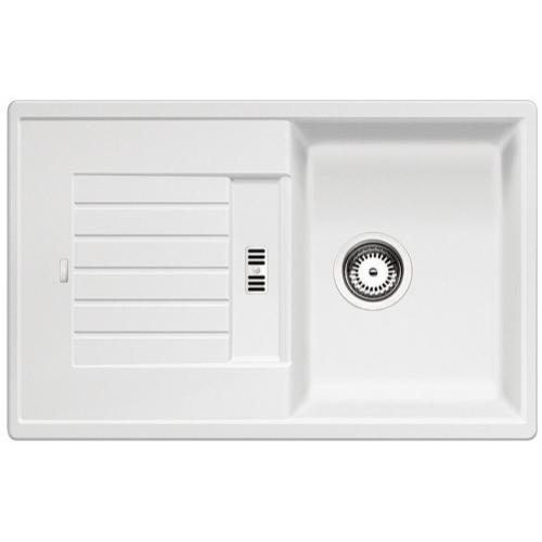 Blanco Zia 45 S Fehér 1m+csepp. Silgránit mosogató 780X500mm ect.nélk.