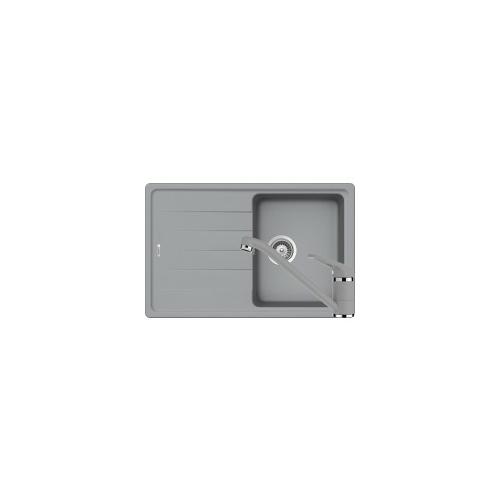 Schock Element D-100S Mosogató 780 x 500 mm és Schock Cosmo Csaptelep Croma Cristalite